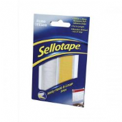 Sellotape Sticky Hook and Loop Strips